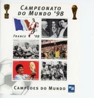 Angola 1998-France Coupe Du Monde De Foot-1095/99***mnh