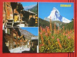 Zermatt (VS) - Mehrbildkarte - VS Valais
