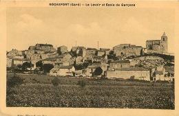 30  ROCHEFORT   GARD   LE LAVOIR ET ECOLE DE GARCONS - Rochefort-du-Gard