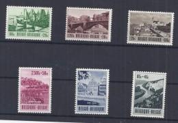 Belgie - Belgique 918/23  Culturele Uitgifte 1953 - Met Plakker - Charniere
