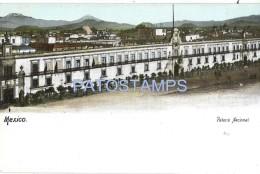 60239 MEXICO D.F PALACIO NACIONAL POSTAL POSTCARD - Mexiko