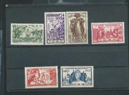 Togo Serie Yvert N° 165 à 170 (*) ( Neuf Sans Gomme - Ava 10801 - 1937 Exposition Internationale De Paris
