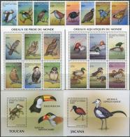 Comoro Isl. 1999. Michel #1558/77+Bl.#403/04-A MNH/Luxe. Birds Of The World. (Ts53) - Pájaros