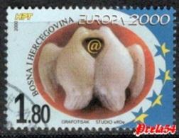 Bosnia Croatian Post - EUROPA 2000 Used