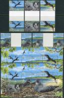 Pitcairn Isl. 2004. Michel #664/68+Bl.#37 MNH/Luxe. Murphy´s Petrel (Ts53)