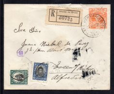 Chile 1921 To Germany, Registered Mail   (A461)
