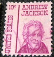 United States 1967 Prominent Americans Andrew Jackson 10c - Used - Oblitérés