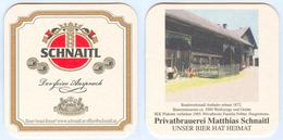 Bierdeckel Schnaitl Gundertshausen Bei Eggelsberg Haigermoos Bundwerkstadl Anthaler Bauernmuseum Familie Felber Beer Mat - Sous-bocks