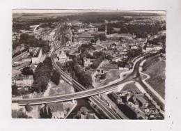 CPM PHOTO DPT 60 BEAUVAIS, VUE AERIENNE DU NOUVEAU PONT En 1958! - Beauvais