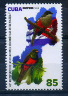 Cuba 2014 / Birds Flags MNH Aves Banderas Vögel / C8213  C - Pájaros