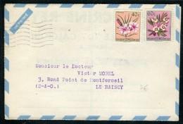 Congo Belge - Enveloppe Publicitaire ( Laboratoire Boquet De Dieppe ) Pour La France   Réf O 194