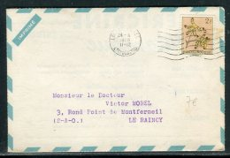 Congo Belge - Enveloppe Publicitaire ( Laboratoire Bocquet De Dieppe ) Pour La France En 1958   Réf O 195