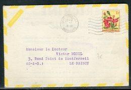 Congo Belge - Enveloppe Publicitaire( Laboratoire Bocquet De Dieppe) Pour La France En 1958   Réf O 196