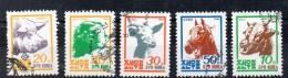 COREE DU NORD - NORTH KOREA - ANIMAUX DE LA FERME - FARM ANIMALS - Oblitéré - 1990 -