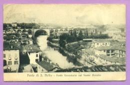 Ponte Di San Pietro - Ponte Ferroviario Sul Fiume Bremba - Bergamo