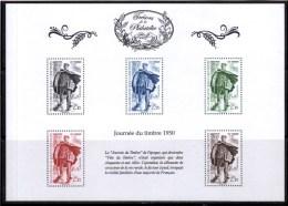 """FR 2014 / BS7 """" TRESORS DE LA PHILATELIE-journée Du Timbre 1950 """" ISSU DU 1er ENSEMBLE DE 10 BF / NEUF RARE / ...."""