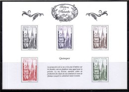 """FR 2014 / BS8 """" TRESORS DE LA PHILATELIE-quimper 1954 """" ISSU DU 1er ENSEMBLE DE 10 BF / NEUF RARE / ...."""