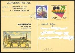 "Italia/Italie/Italy: Intero, Stationery, Entier, Duomo, Cathedral, ""Palermo '79"""