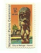 1972 - Stati Uniti PA 77 Statua Di Legno
