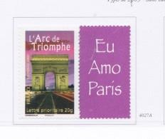 FRANCE 2003 ARC DE TRIOMPHE 4027A LOGO MNH