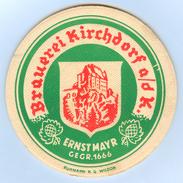 Bierdeckel Österreich Kirchdorf An Der Krems A.d. Im Kremstal Mayr Bier Ernst Brauerei Ruhmann KG Wildon Oberösterreich - Bierdeckel