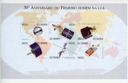 Angola 1999-Exploration De L´espace-1352/57***mnh