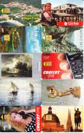 10 Télécartes Usagées Différentes. (CT18) - Croatie