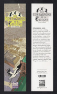 Marque Page.  Les Compagnons De La Cigogne.    Editions Gulf Stream. - Marque-Pages