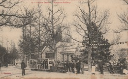 59 Roubaix Exposition Internationale 1911 Avenue De Jussieu Miniature Railway - Roubaix