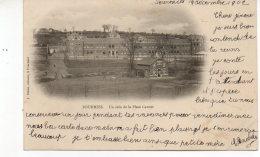 FOURMIES Un Coin De La Place Carnot Buvette - Fourmies
