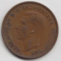 @Y@   Groot BritanniË   1 Penny 1938     (3349) - 1902-1971 :  Post-Victoriaanse Muntstukken