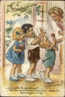 ILLUSTRATEURS - Carte Illustrée Par BOURET - Fête Des Mères - Bouret, Germaine