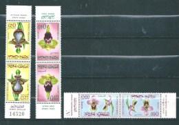 Timbres  Du Maroc  De 1965  N°494A A 496A ( Les 3 Tete Beche)  Neufs ** - Maroc (1956-...)
