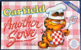 Jim Davis - GARFIELD - The World´s Favourite Cat N° 8 - Another Serve - Ravette Books - ( 1989 ) . - BD Britanniques
