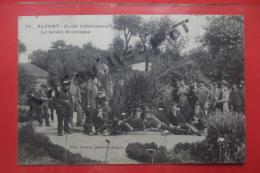 Cp Alfort Ecole Veterinaire Le Jardin Botanique Animé N 14 - Suresnes