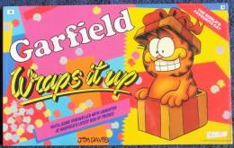 Jim Davis - GARFIELD - The World´s Favourite Cat N° 9 - Wraps It Up - Ravette Books - ( 1988 ) . - BD Britanniques