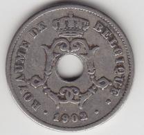 @Y@    Belgique   10 Centimes  1902     (3355) - 1865-1909: Leopold II