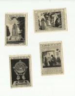 - **4 X Vignette Of Sluitzegel -    .H. DOORNSPEL - MOL Juli 1952.*