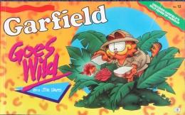 Jim Davis - GARFIELD - The World´s Favourite Cat N° 12 - Goes Wild - Ravette Books - ( 1990 ) . - Bücher, Zeitschriften, Comics