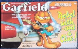 Jim Davis - GARFIELD - The World´s Favourite Cat N° 13 - Rebel Without A Clue ! - Ravette Books - ( 1989 ) . - BD Britanniques