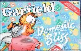 Jim Davis - GARFIELD - The World´s Favourite Cat N° 14 - Domestic Bliss- Ravette Books - ( 1990 ) . - Bücher, Zeitschriften, Comics