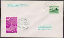 Netherlands Rocketmail, Rakettenpost, Raketpos, Launched From Markelo Flight 934  EZ 94 C.2   Marked Lochem 15-7-1963