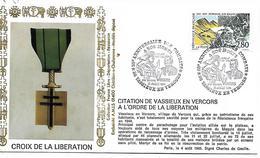 26  VASSIEUX EN VERCORS  A Nos Morts 50° Anniversaire Des Combats  21/07/94