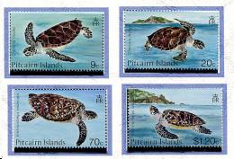 Pitcairn ** N° 264 à 267 - Les Tortues -
