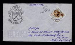 """Angola Lobito 1973 Cover PMC 216 S.P.M. """"DIAMANTE - LUNDA City """" Diamang Minerals Rich Stones Mineraux Portugal Sp4333"""