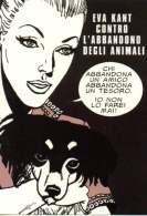 FDK 231 Eva E Diabolik Non Abbandonano Mai Gli Amici Cane Dog Chien Fumetti Noir Comics Strip Enzo Facciolo - Diabolik