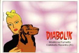 FDK 259 Eva E Diabolik Non Abbandonano Mai Gli Amici Cane Dog Chien Fumetti Noir Comics Strip Giorgio Montorio - Diabolik