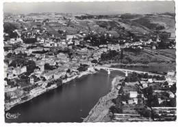 42 - ST-JUST - Vue Générale Aérienne Et La Loire - Ed. Cim Combier N° 2 - Saint Just Saint Rambert