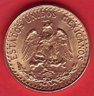 - MEXIQUE - Dos Pesos - 1945 - Or - GOLD - - Mexico