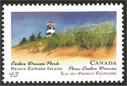 Canada Phare Cedar Dunes Park Prince Edouard MNH ** Neuf SC